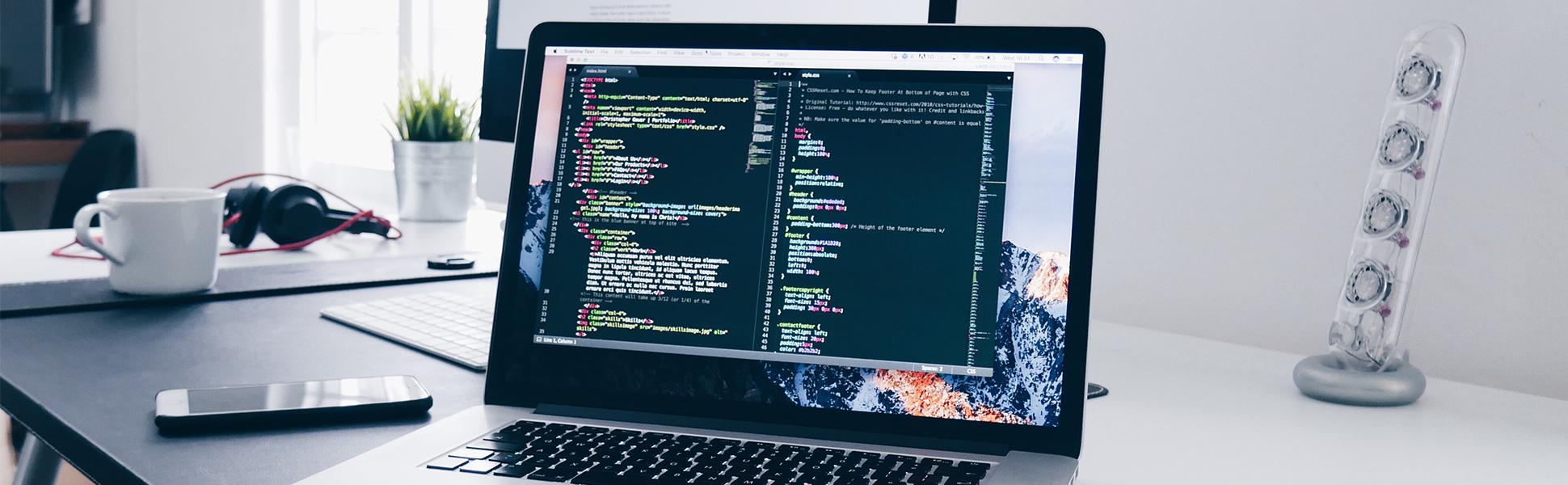 Web development full width