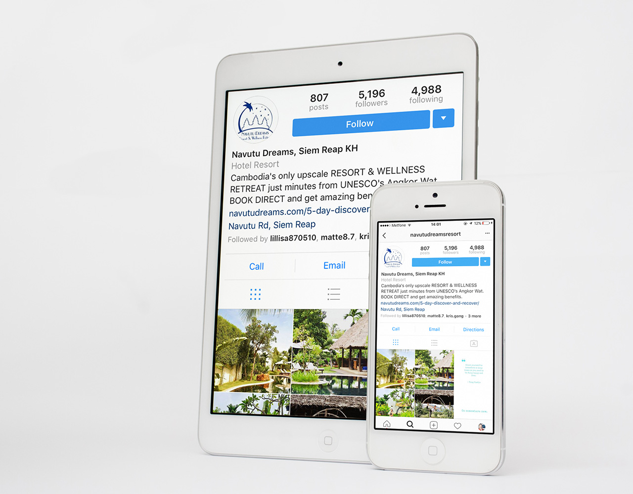 Navutu iPhone and ipad