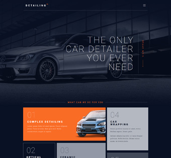garage car repair web development project